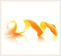 orange rind extraction